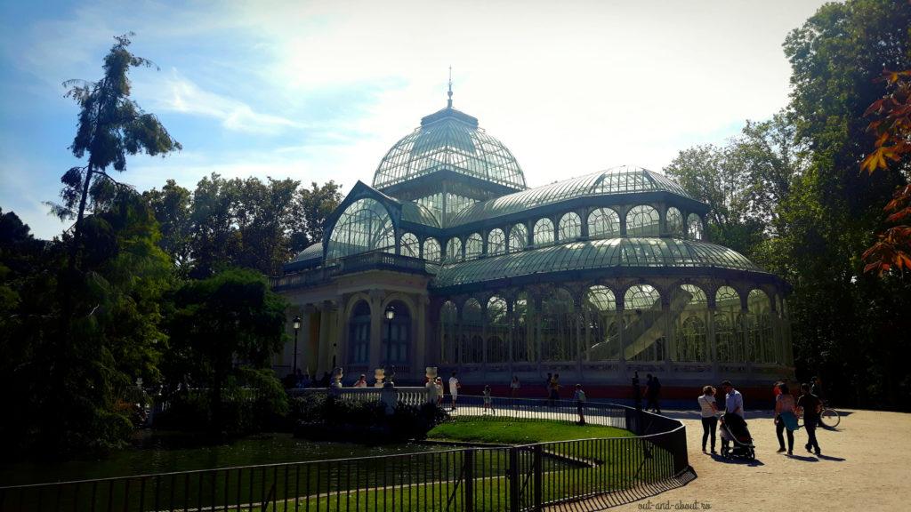 Palatul de Cristal Madrid