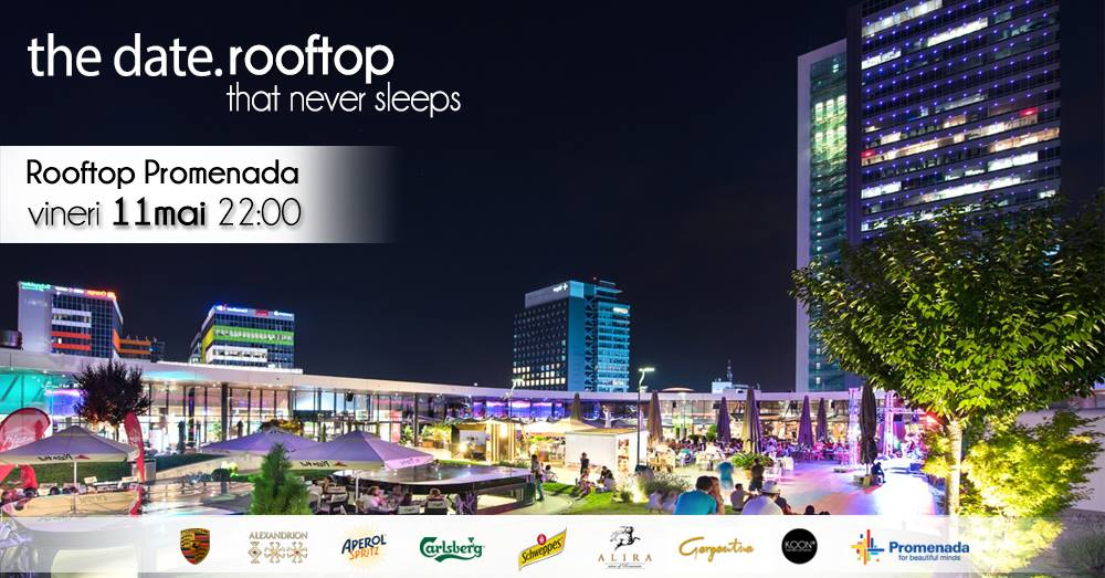 the date rooftop party pe promenada