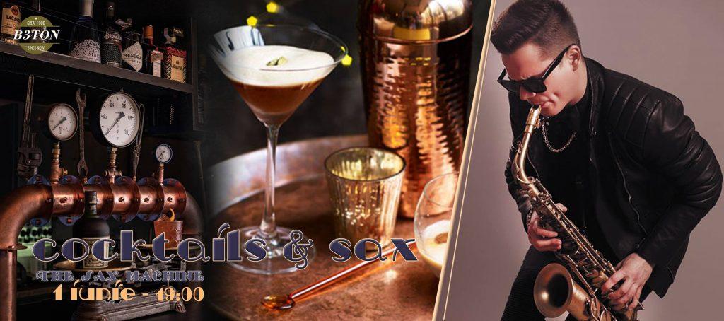 cocktails & sax la beton restobar