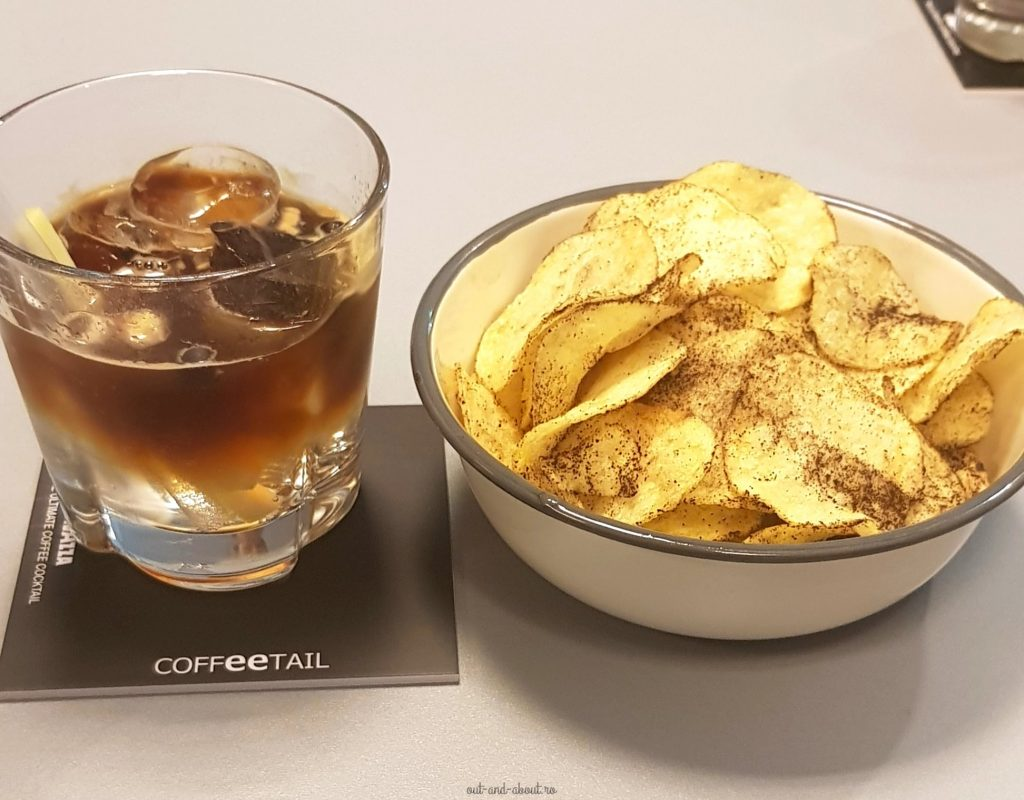 Coffeetail and coffeechips Lavazza