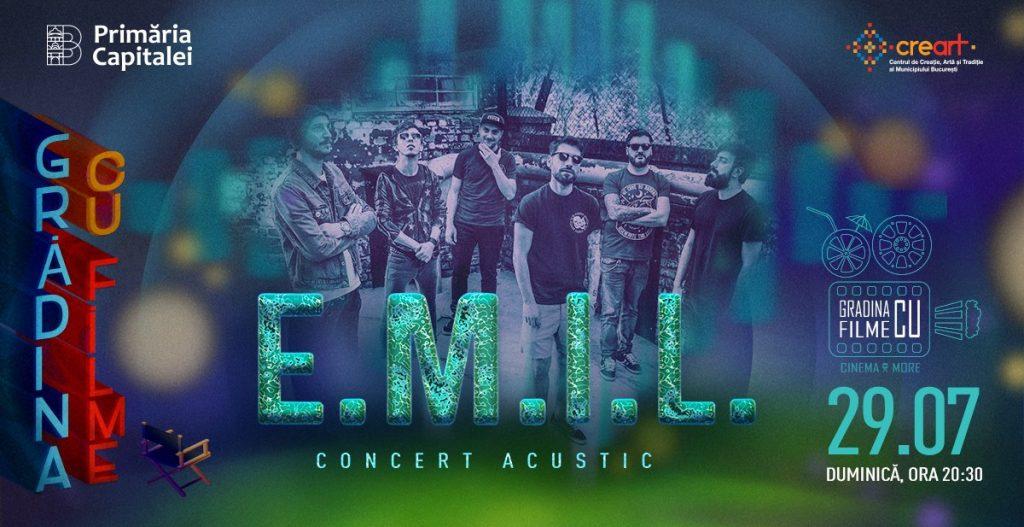 Concert EMIL in Gradina cu filme