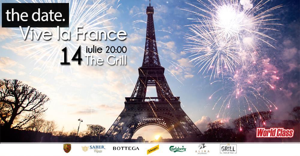 Vive la france party the date