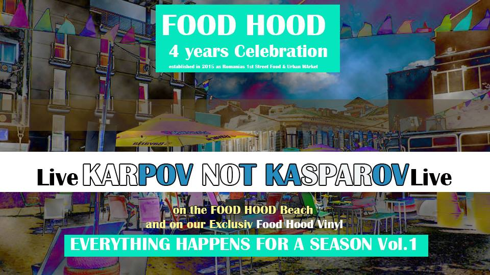 KARPOV NOT KASPAROV la Food Hood