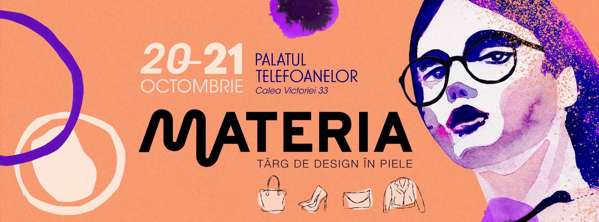 Materia, targ de design in piele