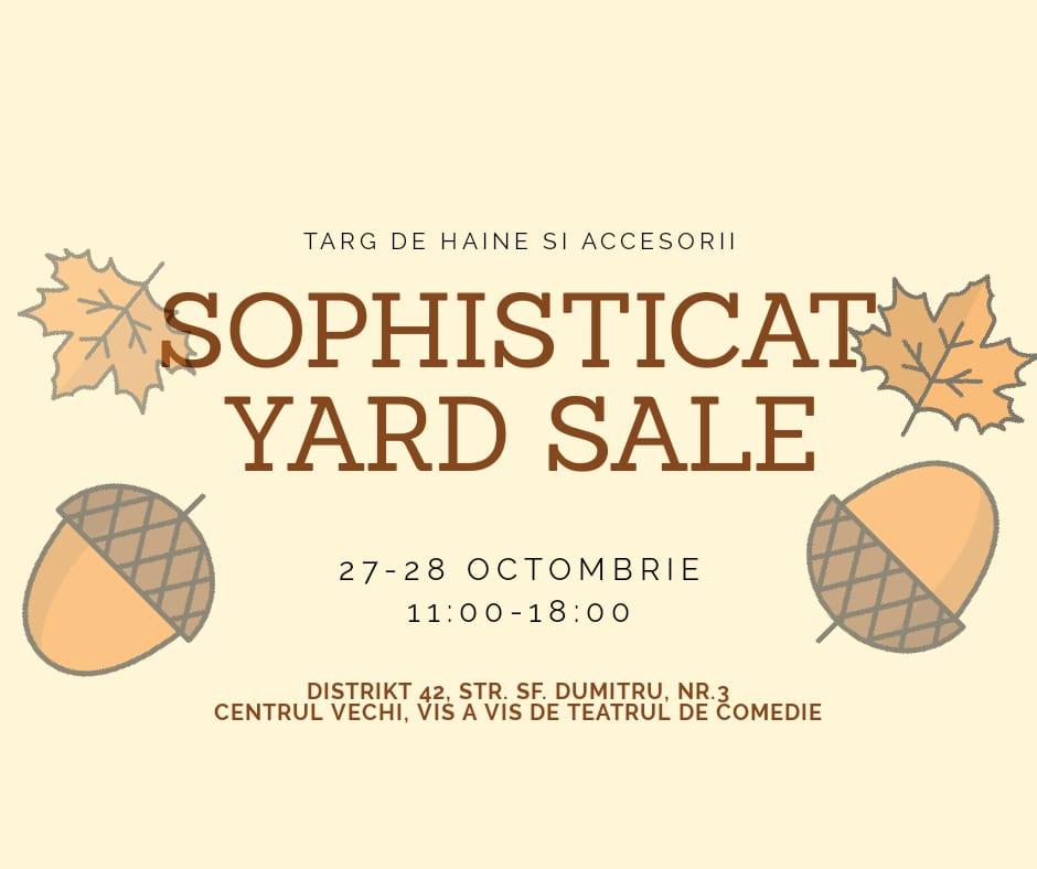 Sophisticat yard sale