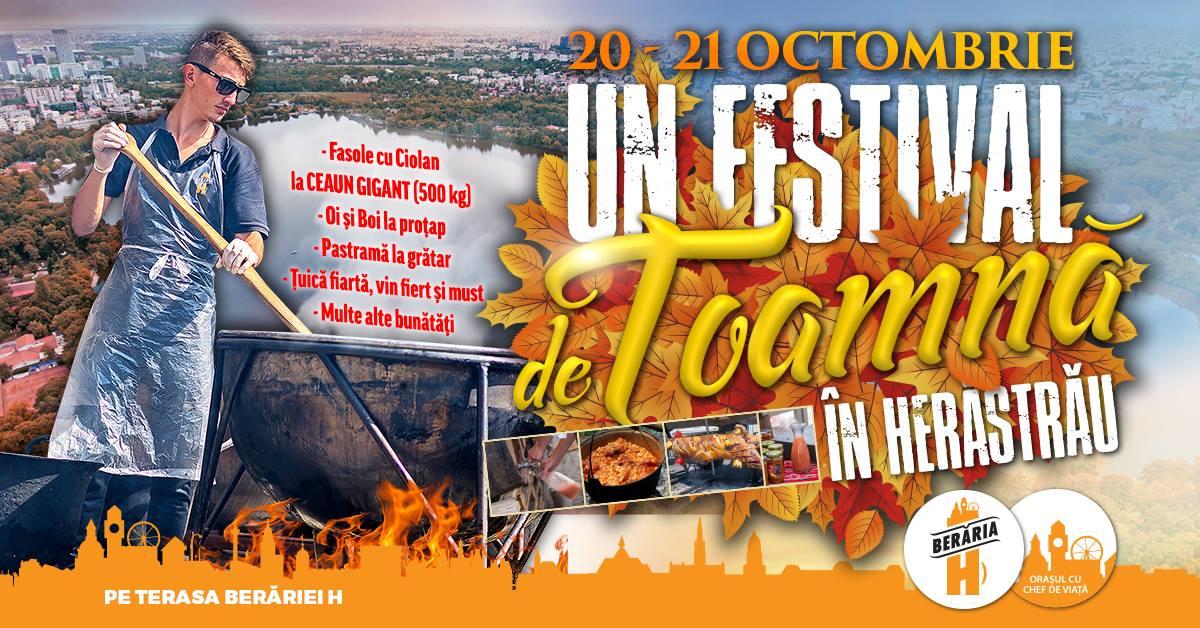 Un festival de toamna in Herastrau