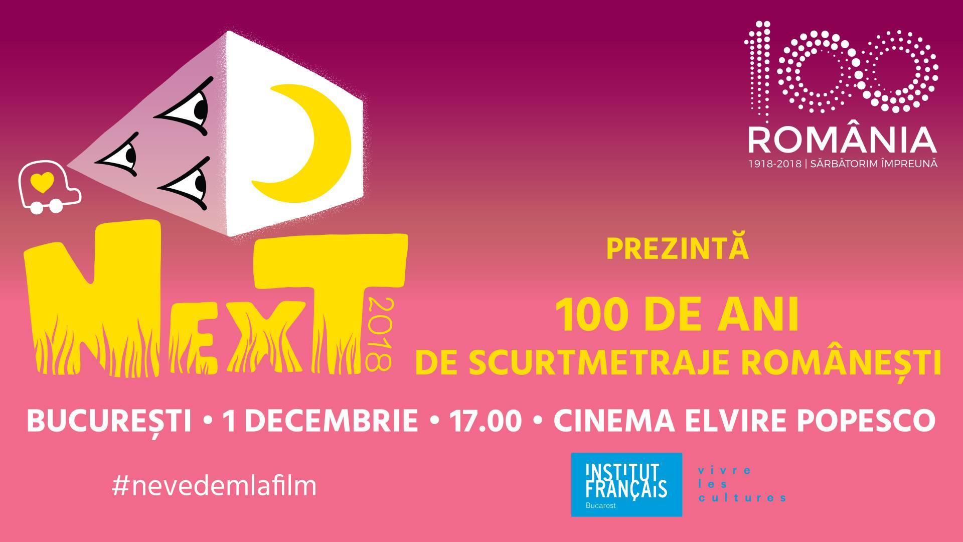 100 de ani de scurtmetraje romanesti