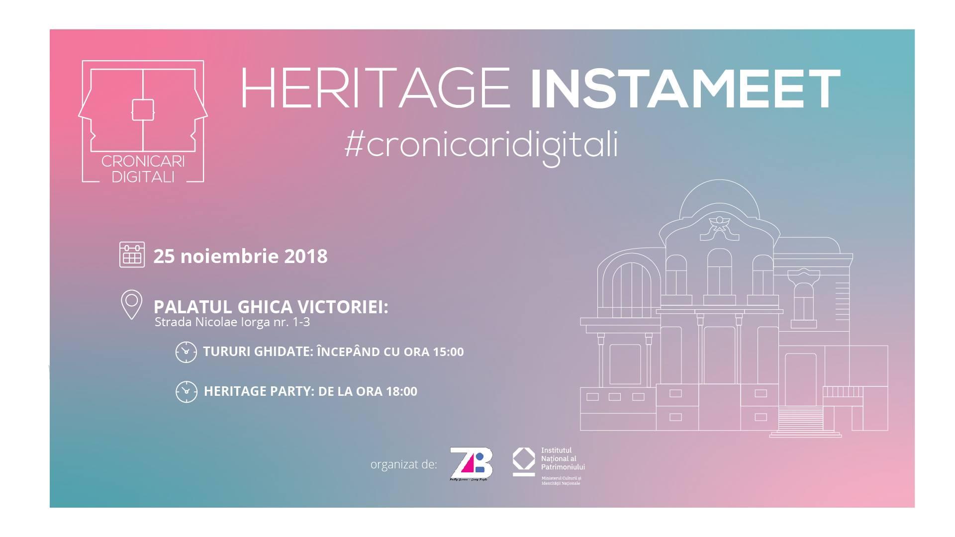 Cronicari digitali - Heritage Instameet
