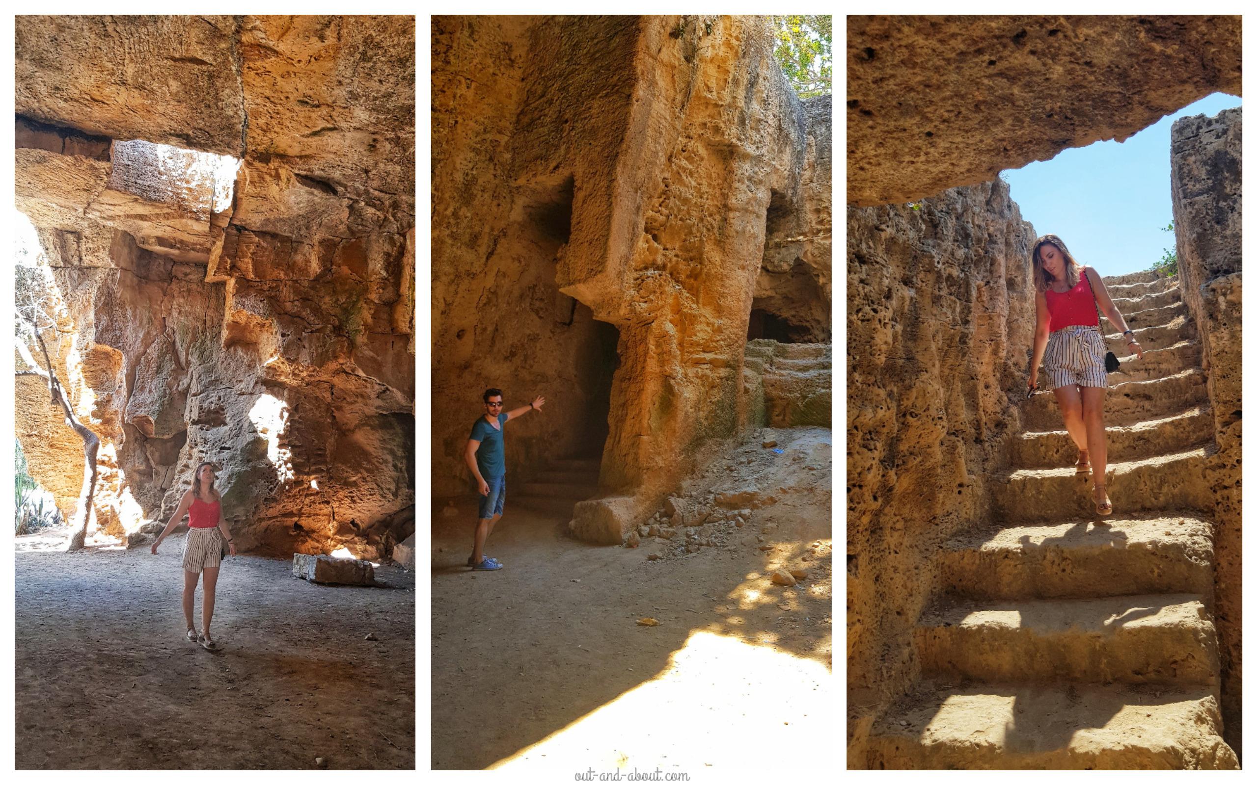 Catacombe Paphos cipru