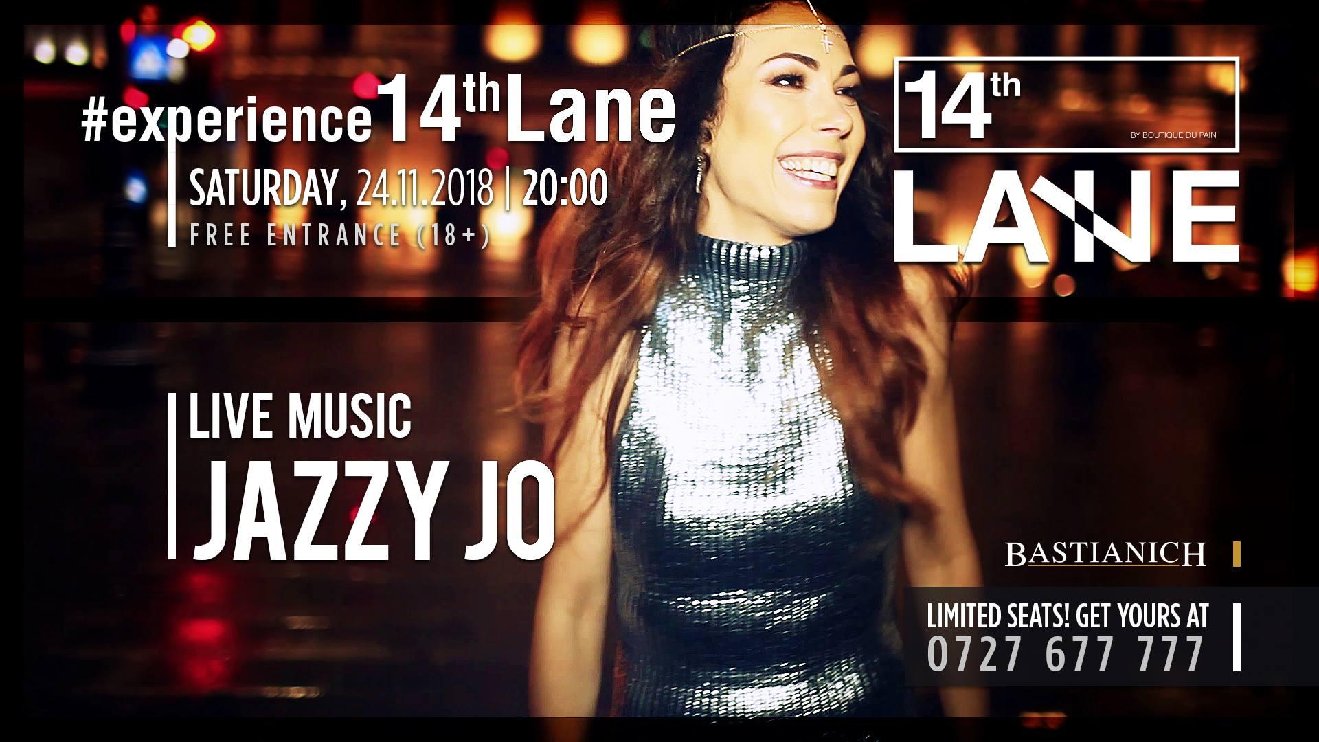 Jazzy Jo la 14thlane