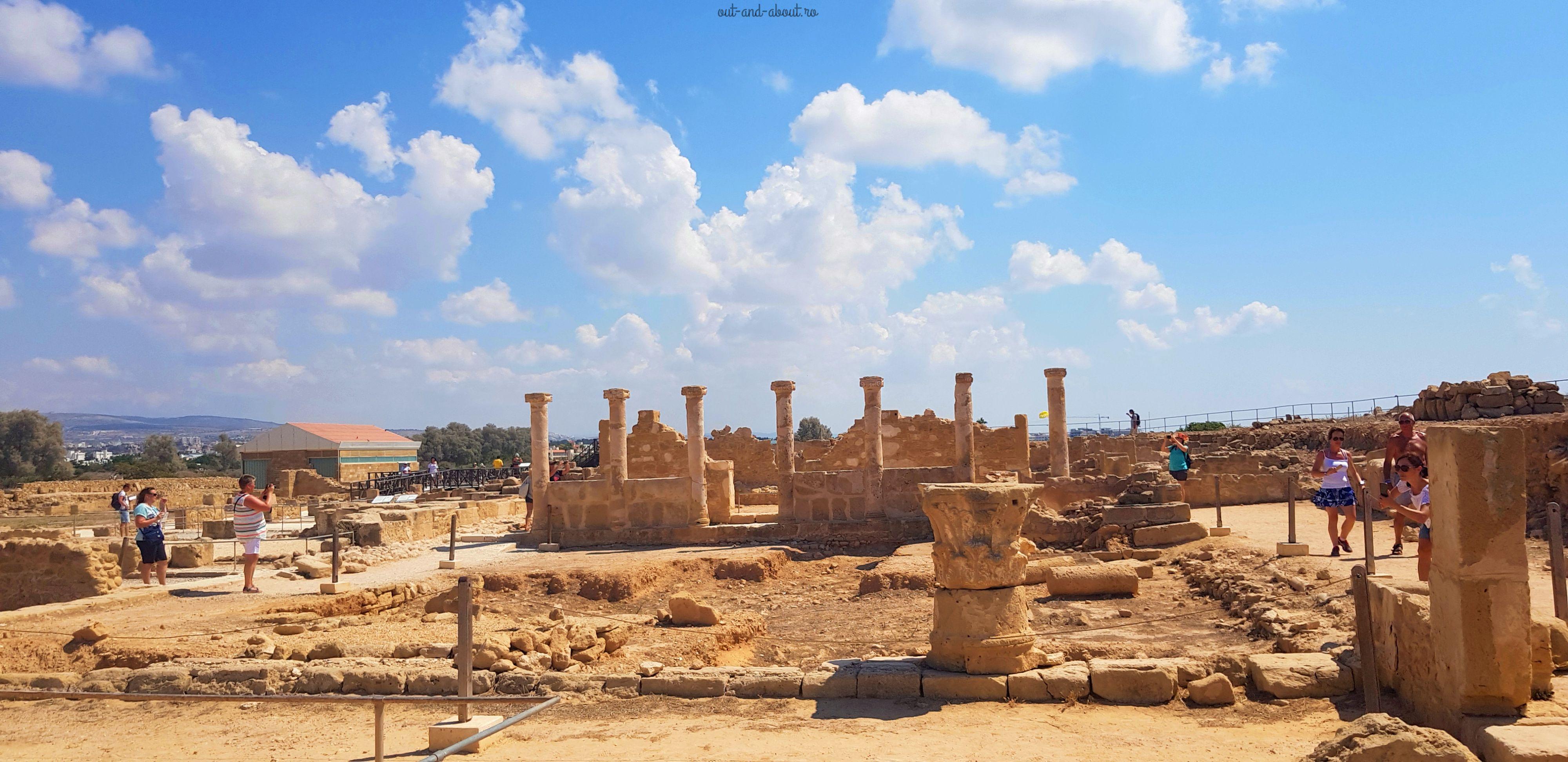 situl arheologic Paphos 2