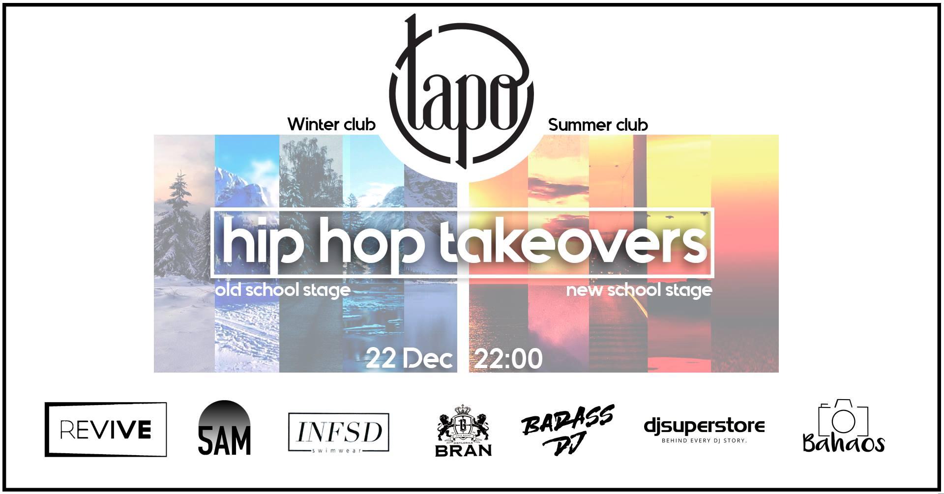 Hip Hop takeovers 5 la Tapo