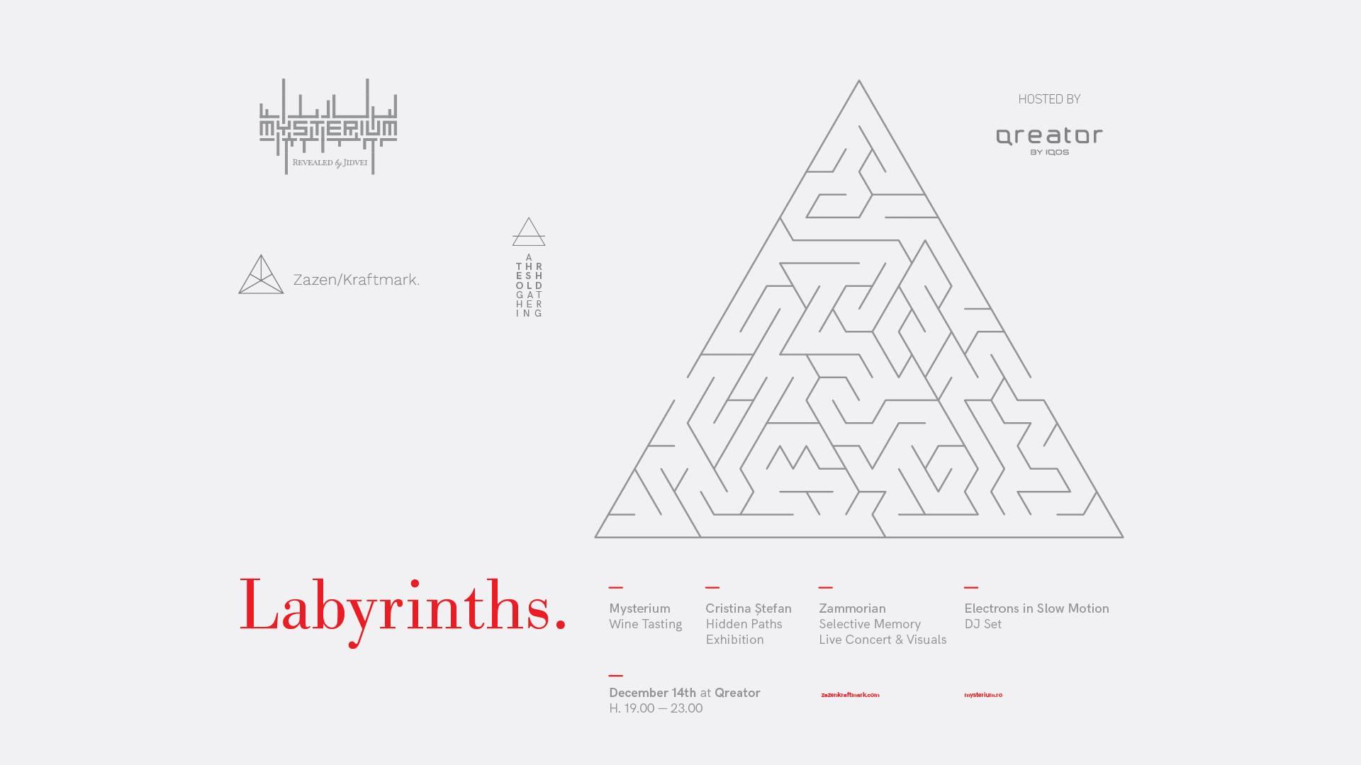Labyrinths eveniment Qreator