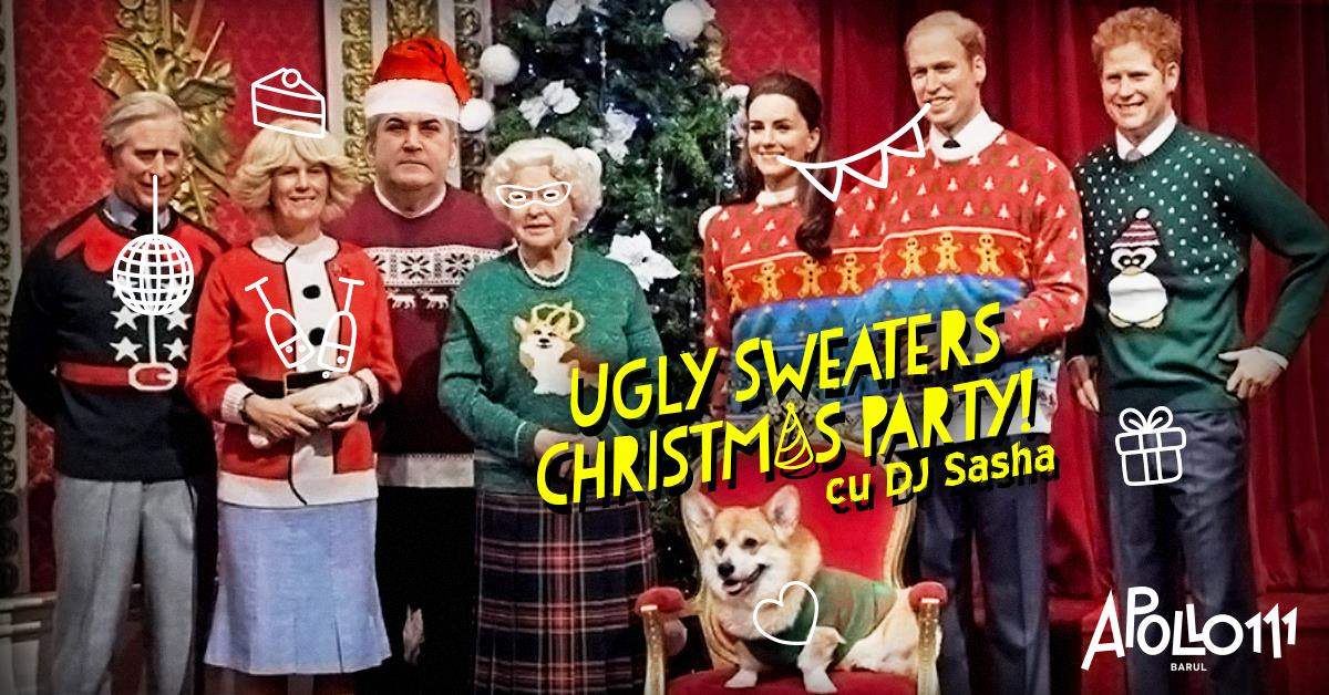 Ugly Sweaters Xmas party Apollo111 Barul