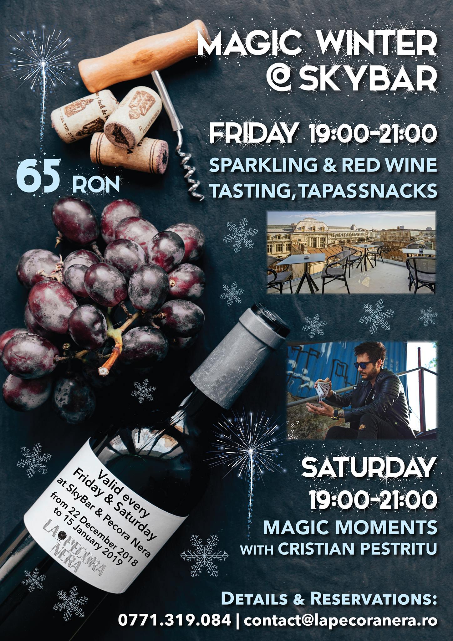 Wine tapas and magic La Pecora Nera