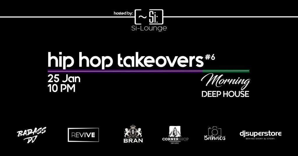 Hip Hop takeovers 6 la SI Lounge