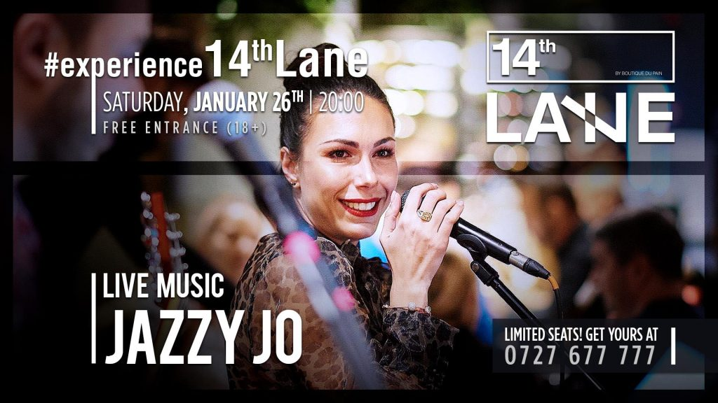 Jazzy Jo live la 14thLane