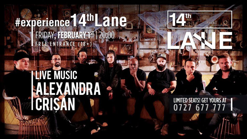 concert Alexandra Crisan la 14thLane
