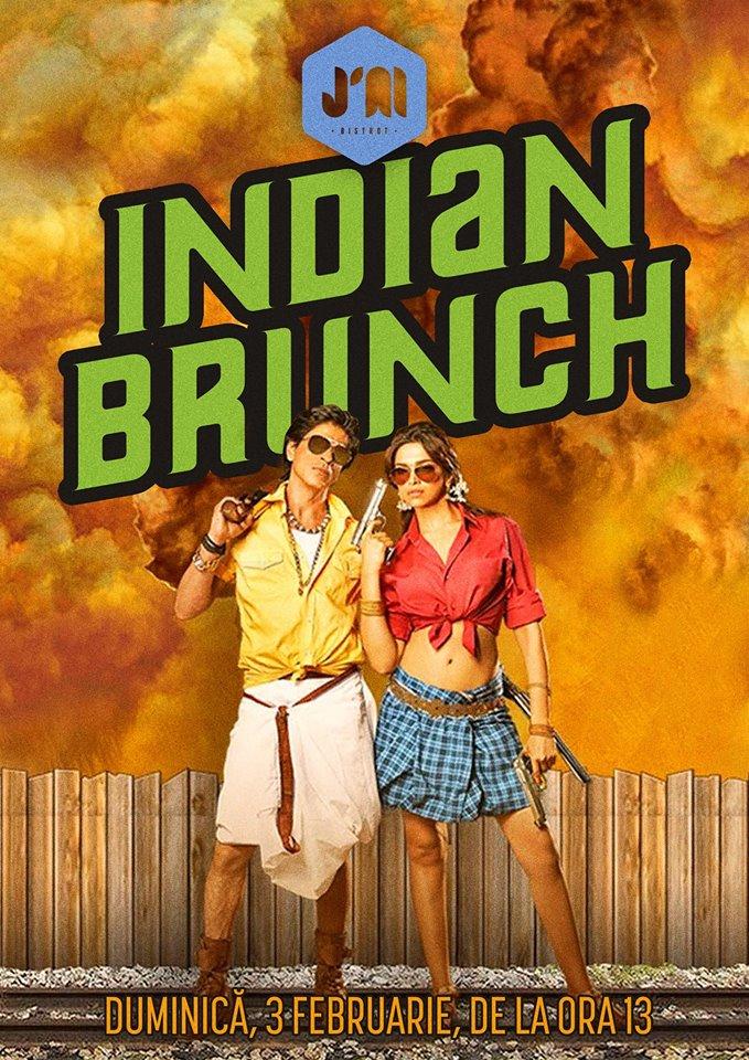 Indian Brunch la J'ai Bistrot