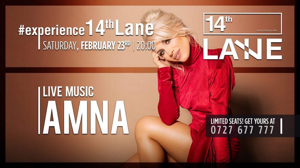 concert Amna la 14thlane