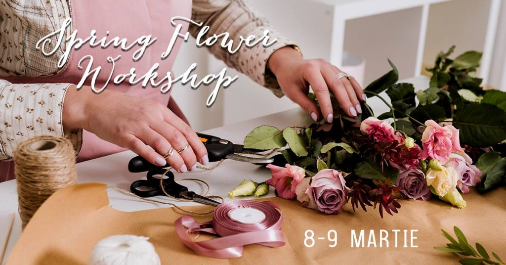 workshop de design floral de 8 martie