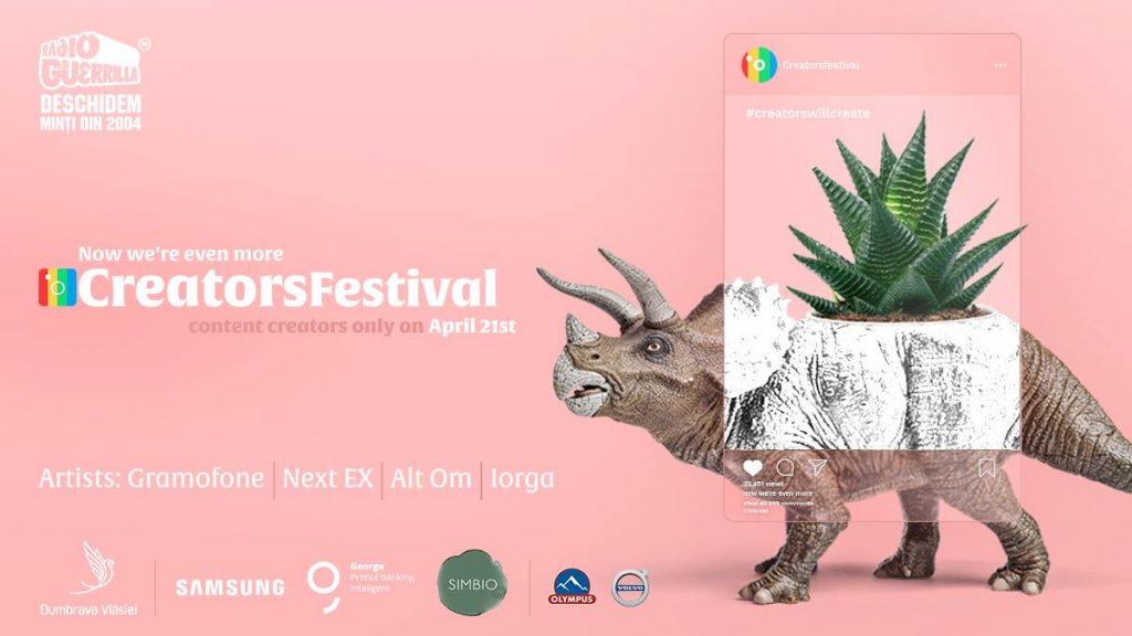 creators festival weekend 19-21 aprilie