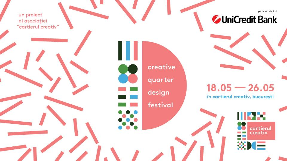 Cartierul creativ design festival weekend 17-19 mai