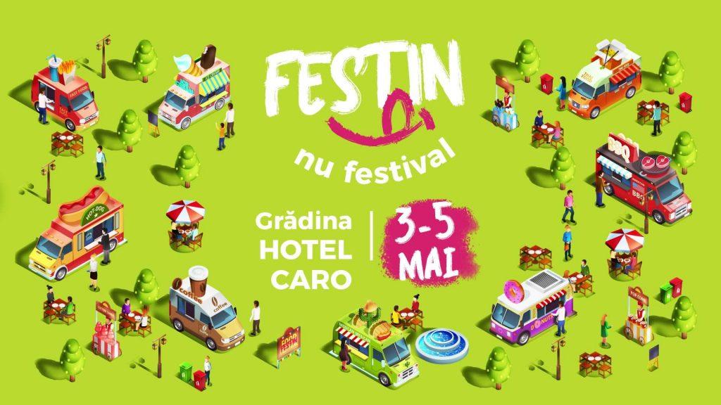Festin nu festival in gradina hotel caro weekend 3-5 mai