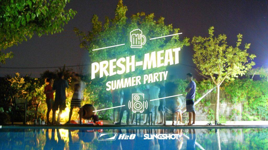 presh meat party la gradina dorobanti weekend 10-12 mai
