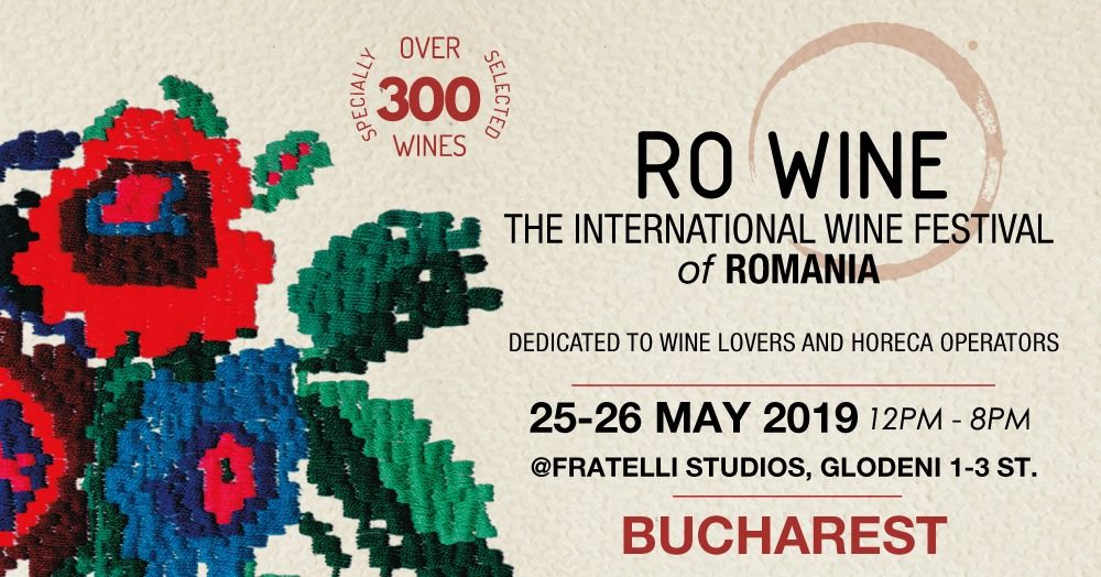 Ro Wine International Wine festival weekend 24-26 mai