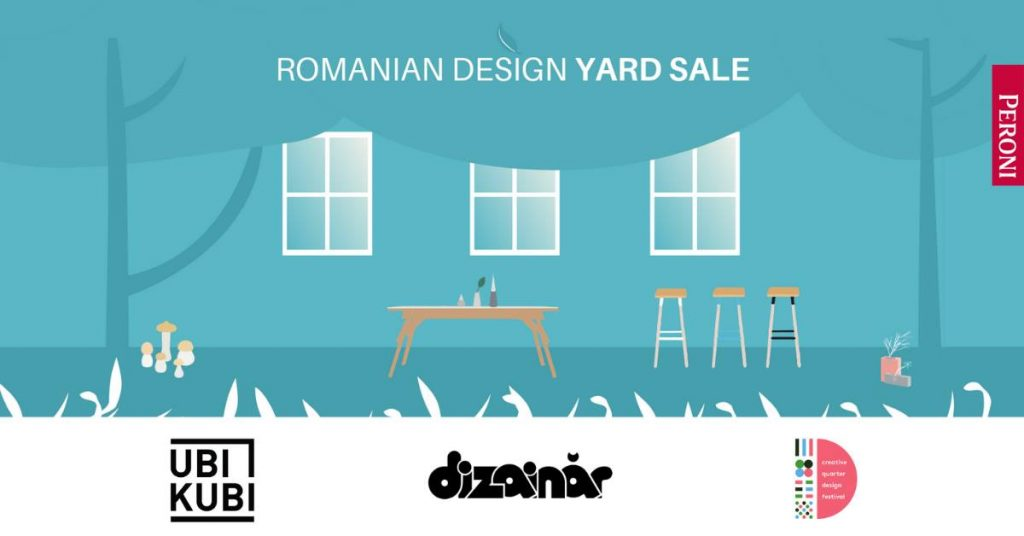 Romanian Design Yard Sale weekend 24-26 mai