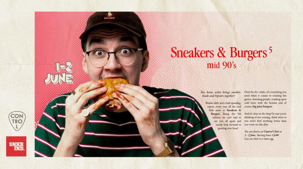 Sneakers & burgers weekend 31 mai 2 iunie