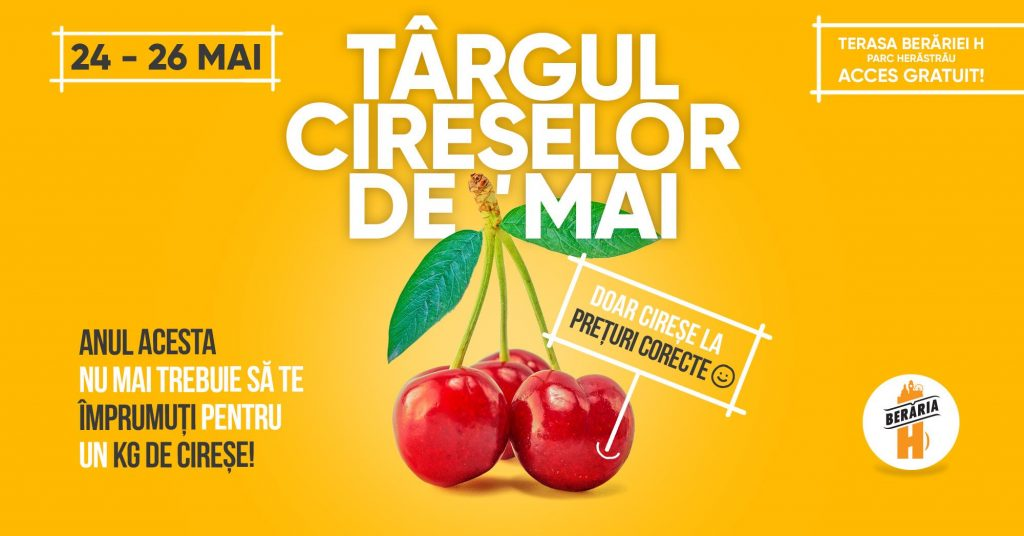 Targul cireselor de mai weekend 24-26 mai