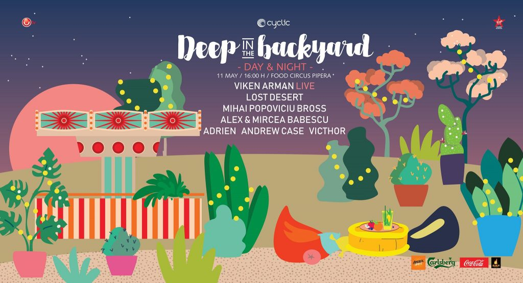 deep in the backyard weekend 10-12 mai