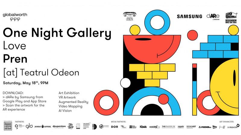 one night gallery on pren la teatrul odeon weekend 17-19 mai