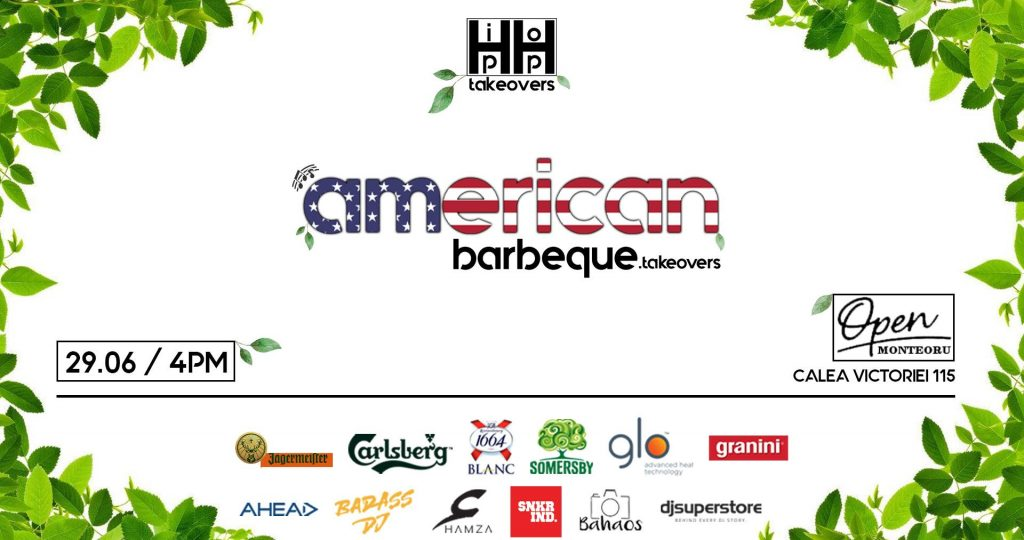 American Barbeque takeovers recomandari weekend 28-30 iunie