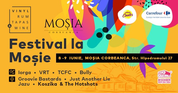 Festival la mosie VRTW weekend 7-9 iunie