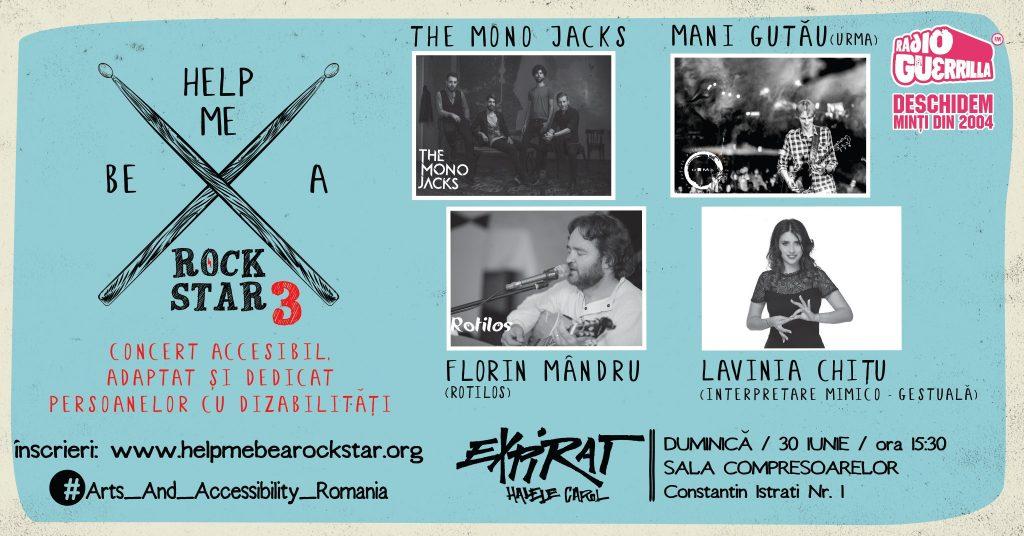 Help me be a rockstar 3 la Expirat recomandari weekend 28-30 iunie
