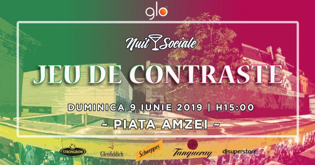 Nuit Sociale Jeu de contraste weekend 7-9 iunie