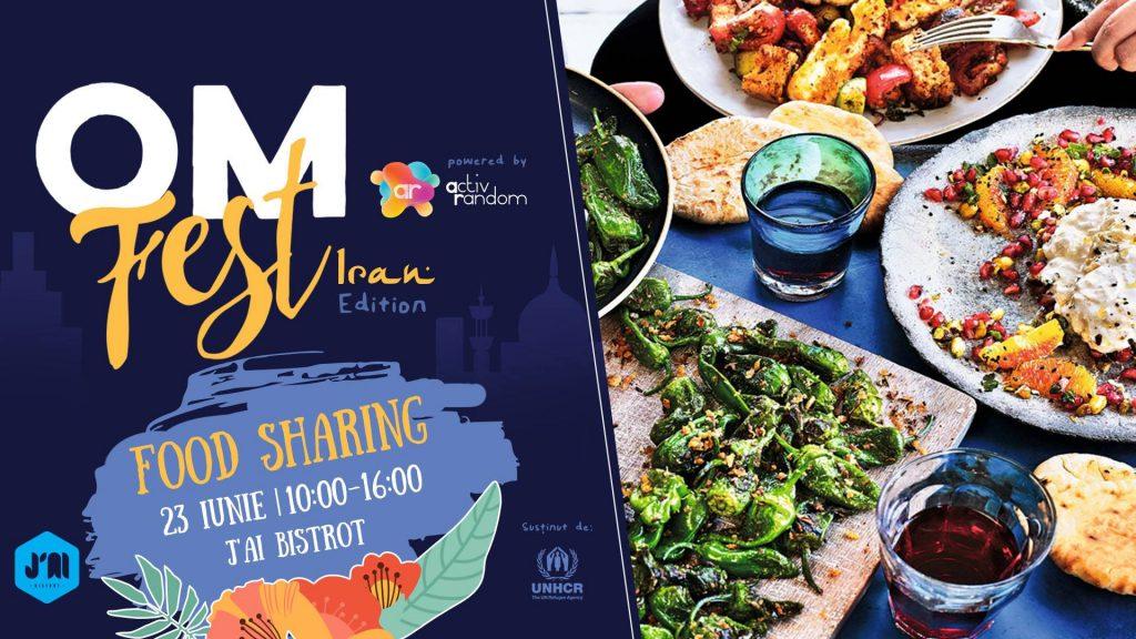 OM Fest Mancare traditionala iraniana weekend 21-23 iunie