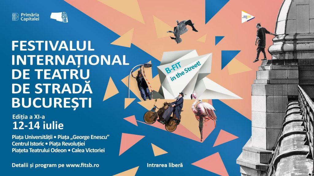 Festivalul international de teatru de strada weekend 12-14 iulie