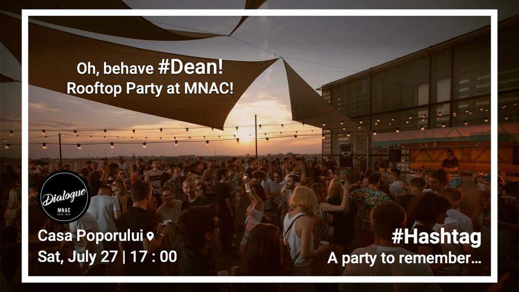 Rooftop party pe MNAC recomandari weekend 26-28 iulie