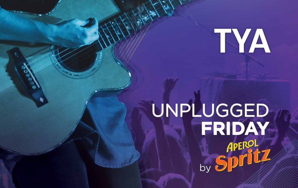 Unplugged Friday by Aperol la Hard Rock Cafe recomandari weekend 26-28 iulie