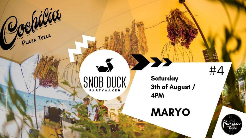 snob duck la cochilia weekend 2-4 august