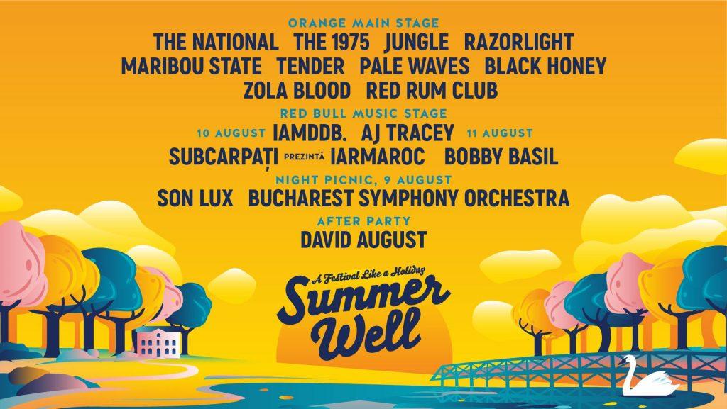 Summer Well 2019 weekend 9-11 aug
