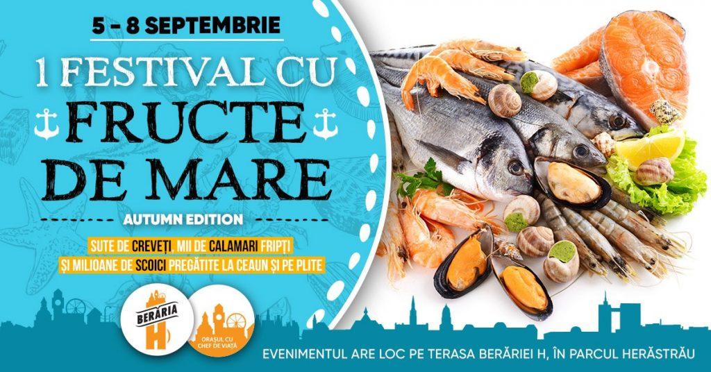 1 festival cu fructe de mare  weekend 6-8 sept