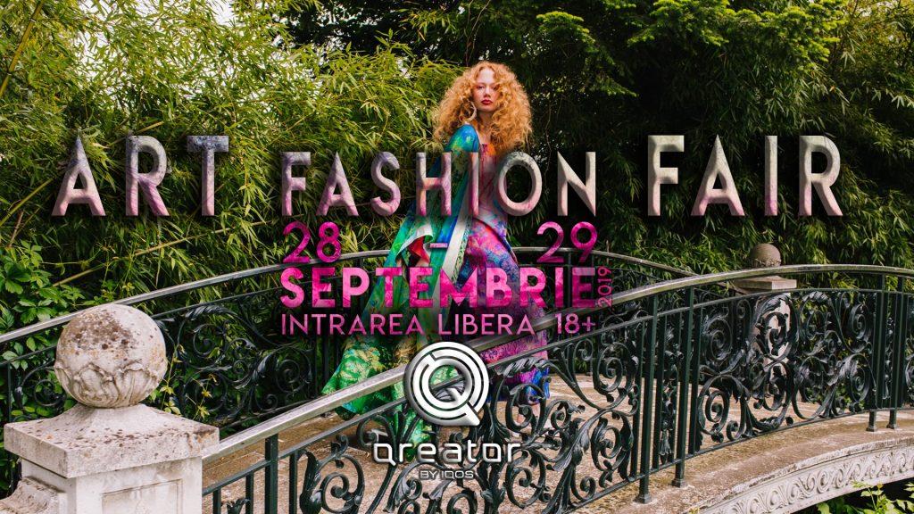 Art Fashion Fair la Qreator weekend 27-29 sept