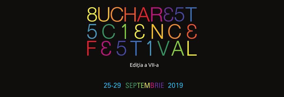 Bucharest Science Festival 2019 weekend 27-29 sept