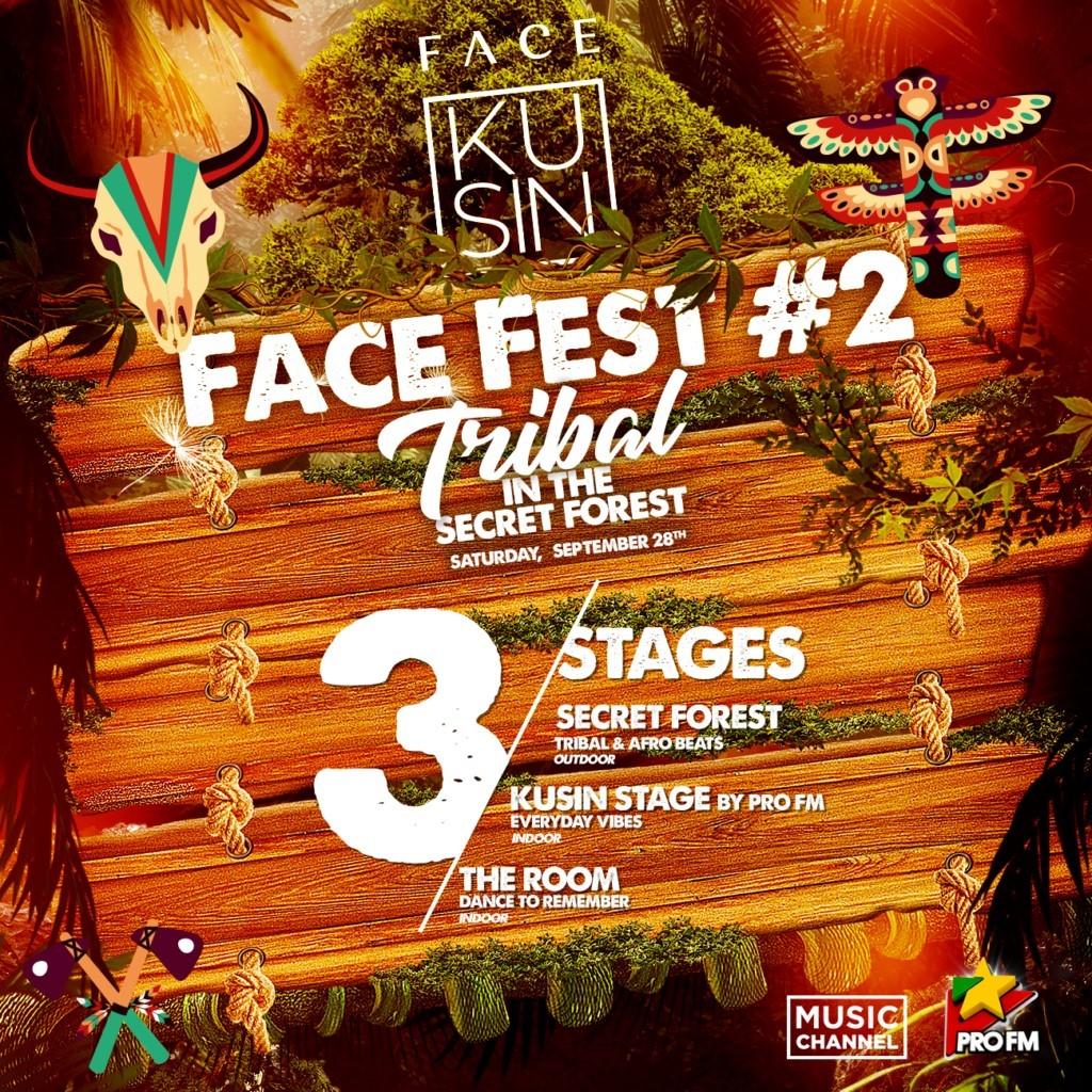 Face fest - Tribal in the secret forest weekend 27-29 sept