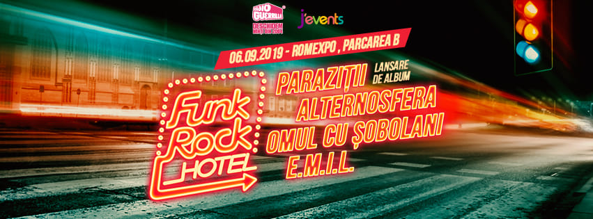 Funk Rock Hotel 15 weekend 6-8 sept
